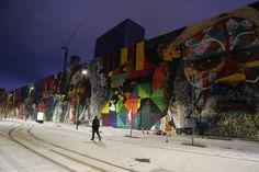 Mural de quase 3 mil metros quadrados na Zona Portuária do Rio de Janeiro, do…