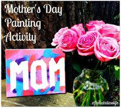 Mother's Day Painting Activity for Kids