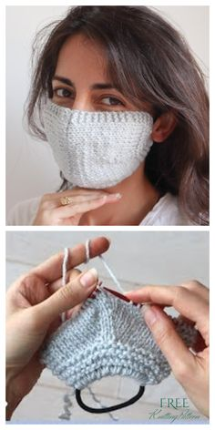 10 Knit Face Mask Free Knitting Patterns and Paid – Knitting Pattern - Crochet Crochet Mask, Crochet Amigurumi, Vogue Knitting, Free Knitting, Diy Mask, Diy Face Mask, Face Masks, Free Pattern, Crochet Pattern