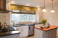 #KitchenWindow - When you go to ideas for kitchen window treatment ideas, there are a number of things to consider. Here is an article that will help you understand different ideas kitchen window treatment. Ideas for kitchen window treatments are mer