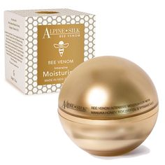 This moisturiser is an intensive treatment that can help improve the softness and smoothness of your skin. With the added benefits of rosehip oil, it assists in reducing the appearance of fine lines and imperfections. The anti-oxidant properties of vitamin E strengthen skin cells and add radiance to your skin  http://www.skincarenz.com/alpine-silk-bee-venom-intensive-moisturiser.htm