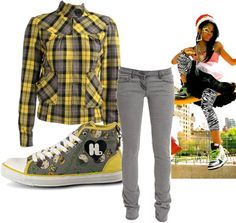 """hip hop style"" by mrswzyw ❤ liked on Polyvore"