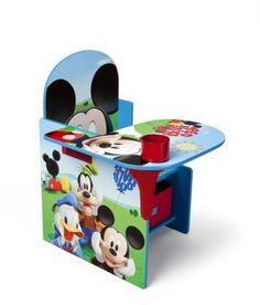 Children Chair Desk Storage Bin, Disney Mickey Mouse Birthday Gift Toy Create #DeltaChildren