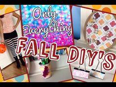 Fall DIY's - YouTube