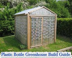 At living green and frugally we aim to provide you with lots of great tips and advice on Plastic Bottle Greenhouse Build Guide