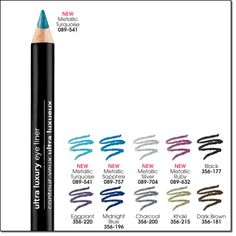 Ultra Luxury Eye Liner - Colours Available: Dark Brown, Eggplant, Black --- Regular Price: $5.99 --- My price: $2.00* *while supplies last Smooth, precise application. Line and define with our most luxurious pencils ever! Soft, velvety pencils Won't pull or tug. Smudge-proof. Hours of wear. 1.14 g