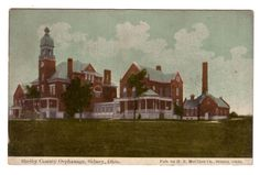 Shelby County OH Orphanage Sidney Ohio 1912 postcard