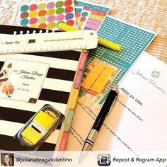 O Daily Planner te ajuda a ter uma vida mais colorida, alegre e motivada! #meudailyplanner #dailyplanner #planneraddict #plannerstickers