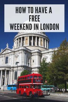London is the most expensive travel destination in Britain and one of the priciest cities in the world. But here are the best free things to do in London so you can stick to your budget.