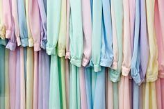 rack of pastel