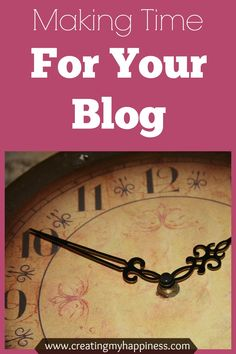 Time is something we all seem to have too little of. So how do you make time for your blog when you're already stretched thin? Read on to find out.