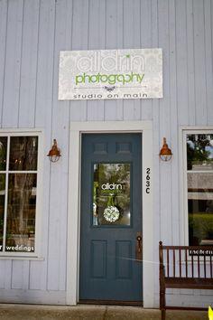 My studio store front at 263C Main St. Murphys