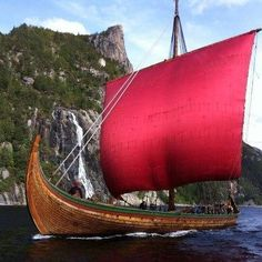 Dragon Harald Fairhair - the largest viking ship built in modern times
