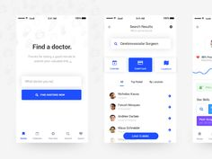 Search your Doctor by Stelian Subotin #Design Popular #Dribbble #shots
