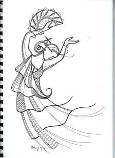 Danseuse Eventail