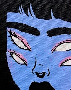 creepy art – painting – girl - En Tutorial and Ideas Trippy Painting, Painting & Drawing, Hippie Painting, Hippie Drawing, Pop Art Drawing, Body Painting, Art And Illustration, Drawing Sketches, Art Drawings