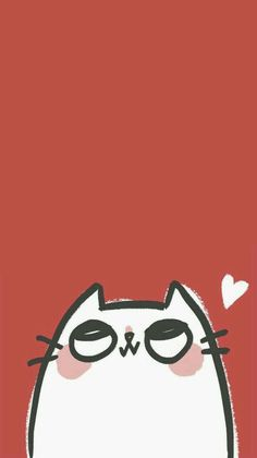 "Mayor-Totoro: ""cute bunny wallpaper i made based off of this & Cartoon Wallpaper, Wallpaper Gatos, Cute Wallpaper For Phone, Kawaii Wallpaper, Iphone Red Wallpaper, Iphone Wallpaper Illustration, Iphone Wallpaper Vintage Retro, Watercolor Wallpaper Iphone, Drawing Wallpaper"