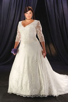 plus size wedding dresses 2013 with sleeves