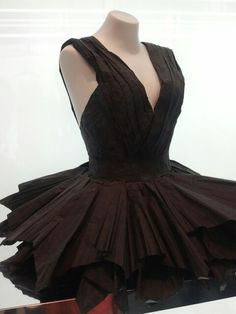 Tissue paper dress