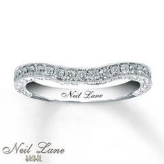 Neil Lane Bridal Band 1/3 ct tw  Diamonds 14K White Gold