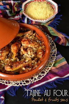 Tajine au four Poulet et Fruits secs - muffinzlover.blogspot.fr