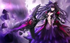 Images and videos of the apocalyptic tyrantess Inverse Tohka Yatogami from the Date A Live franchise. Date A Live, Character Art, Character Design, Anime Date, Poster S, Female Anime, Fate Stay Night, Sword Art Online, Me Me Me Anime
