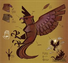 Roc by MisterFeelgood on DeviantArt Bird Bones, Drawing Tools, Writing A Book, Tigger, Creatures, Colours, Deviantart, Drawings, Artist