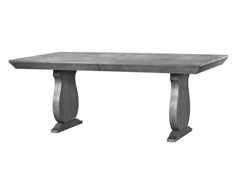Bungalow 5 | Porto Dining Table in Grey Cerused Oak -- CLICK ON IMAGE FOR MORE DETAIL