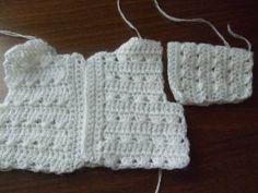 The crochet sweater