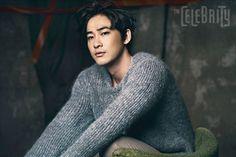Kang Ji Hwan - The Celebrity Magazine January Issue '14