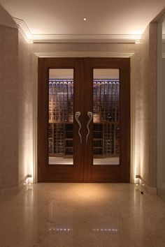 Lighting design by John Cullen Lighting hall lighting Front Door Lighting, Corridor Lighting, Hall Lighting, Stair Lighting, Closet Lighting, Bedroom Lighting, Interior Lighting, Front Door Design, Window Design