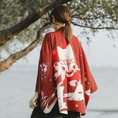 Kimono Mujer Masuku Kimono Yukata, Gilet Kimono, Cardigan Kimono, Kimono Blouse, Summer Cardigan, Mask Japanese, Japanese Kimono, Japanese Fashion, Asian Fashion
