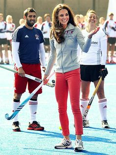 Kate Middleton + Field Hockey