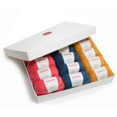 Gift box yarns aymara webshop 6 euro/bol 50g naald 4-5