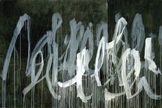 untitledblogproject: Cy Twombly III Notes from Salalah, Note II, 2005-07