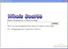 Whois Look Up Tool