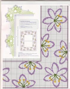 Discover (and save! Cross Stitch Boards, Mini Cross Stitch, Cross Stitch Flowers, Ribbon Embroidery, Cross Stitch Embroidery, Embroidery Patterns, Cross Stitch Designs, Cross Stitch Patterns, Free Cross Stitch Charts