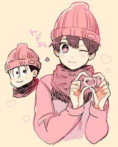 Osomatsu-san ( I've been told that I'm like Todo or Choro )