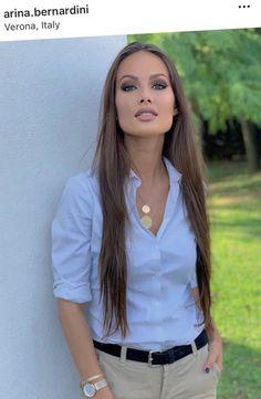 White Shirt Outfits, White Shirts, Russian Beauty, Boho Girl, Women Lifestyle, Russian Models, Stunningly Beautiful, Mode Style, Lingerie