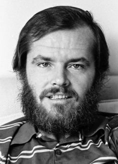 Jack Nicholson photographed in New York City in 1969 by Jack Mitchell.