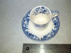 Antique Copeland Spode England Demitasse cup and saucer says S 1779 on bottom #CopelandSpode