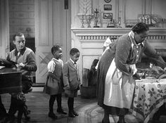"""A look inside the farmhouse from the classic Christmas movie """"Holiday Inn"""" starring Bing Crosby and Fred Astaire and its memorable sets. White Christmas Movie, Classic Christmas Movies, Classic Movies, Louise Beavers, Retro Images, Film Books, Filming Locations, Old Tv, Its A Wonderful Life"""