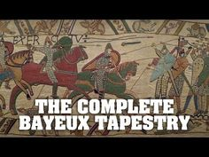 The Bayeux Tapestry is one of the most iconic artefacts of English history. The original Bayeux Tapestry is displayed in Bayeux, in France. It is thought that . Bayeux Tapestry, Horrible Histories, Medieval Times, Medieval Art, Teaching History, France, Fun To Be One, Middle Ages, Ancient History