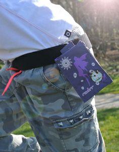 Purple Fairies insulin pouch for Kids
