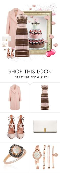 """""""Neopolitan"""" by adaline-blooms ❤ liked on Polyvore featuring Hobbs, Emilia Wickstead, Valentino, Calvin Klein, LE VIAN and Anne Klein"""