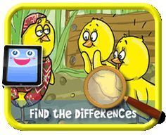 3 Baby Chicks - Find the Differences Game for Kids Find The Differences Games, Hidden Pictures, 3rd Baby, Baby Chicks, Different, Games For Kids, Kids Playing, Activities, Games For Children