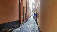 The narrow alleys of Gamla Stan are full with shops, restaurants and cafes.