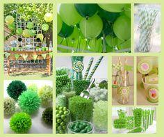 #Fiesta #verde. Decoración #party #green #candy #table #pompon #printable #imprimibles Green Candy, Ideas Para Fiestas, Candy Table, Party, Table Decorations, Home Decor, Decorative Accents, Decorations, Green Party
