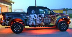 Yeah You Did: Fan Wraps Truck In Star Wars Graphics