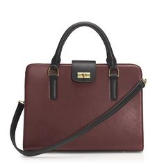 Edie attaché bag in two tone - Featured Handbags - Women's Handbag Shop - J.Crew